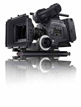 Sony F65 camera professional training class at Santa Fe Studios
